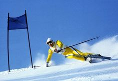 """Ingemar Stenmark, 86 World Cup wins, no one else in his class, second place in wins is """"the Herminator"""" Hermann Maier with 54 first place wins...very precise skier--Doug Coombs called him """"the technician."""""""
