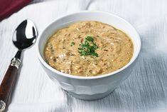 Twice-Fried Potatoes & Caramelized Leek Soup