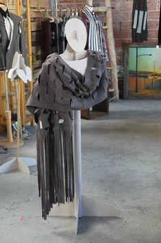 Half Mannequin prototype being tested at the 25th Street Collective, Oakland, CA