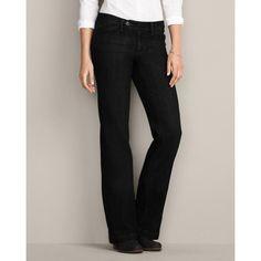 Eddie Bauer Womens Curvy Trouser Jeans (bestseller)