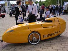 Waw velomobile land speed machine