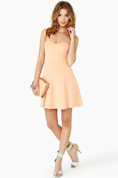 Color Crush Skater Dress