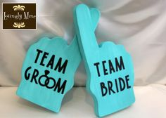 What's better than your guests rooting for you? Let your guests have fun posing with these great foam fingers. $5.95