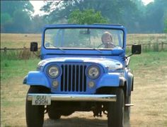 CJ5 Jeep used in the episode 'On the run' where George Sweeney plays armed robber Tim Cook who has done a bunk from prison and is after Jack Regan.