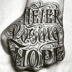 Hand tattoos for guys, dad tattoos, cool tattoos, arm tattoo, chicano Simple Hand Tattoos, Hand Tattoos For Guys, Dad Tattoos, Best Sleeve Tattoos, Body Art Tattoos, Arrow Tattoos, Tattoo Lettering Design, Tattoo Script, Skull Hand Tattoo