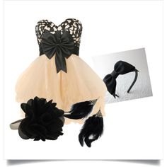 Dance dress, created by maddymae69 on Polyvore