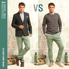 ¿Sofisticado como para una cena con los padres de tu novia o relajado como para ir al cine con ella? #mbo #blazer #versus #polos #ropa #menswear #fashionwear #mensfashion #fashionformen #styleformen #style #shop