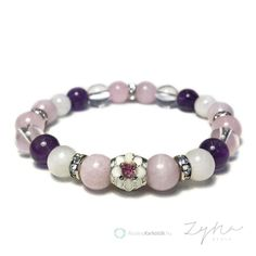 Nőiesség erősítő, migrénes fejfájást csillapító, lelki egyensúlyt biztosító ásvány karkötő kunzittal Beaded Bracelets, Jewelry, Fashion, Moda, Jewlery, Jewerly, Fashion Styles, Pearl Bracelets, Schmuck