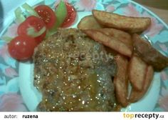 Krkovice se zázvorem a šlehačkou recept - TopRecepty.cz Steak, Breakfast, Steaks, Morning Breakfast, Beef