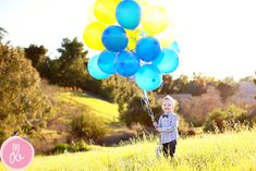 Birthday Photos Balloon Ideas