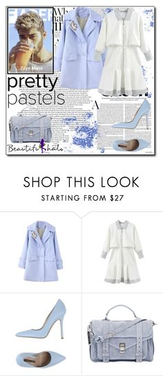 """Beautifulhalo II/40"" by ana-a-m on Polyvore featuring Norma J.Baker and Proenza Schouler"