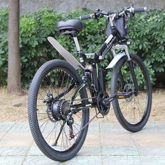 "e-bike 500W 26 "" Carbon Steel 13AH lithium 48V //Price: $992.12 & FREE Shipping // #house #style #art"