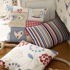 'Seaside' collection for Fryett's Fabrics