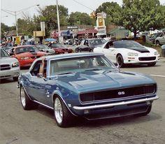 68 Camaro. Mine will be a dark metallic blue!