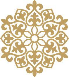 казахские орнаменты рамки - Поиск в Google