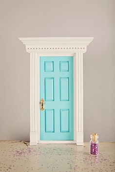 Tooth Fairy Door - Fully Customizable for your Child's Tooth Fairy. $30.00, via Etsy......Emma V.