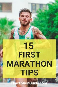 Running your first marathon? Read these important first marathon tips first. Find out what to do (and what not to do) when training for your first marathon. Running Hacks, Running Humor, Running Motivation, Running Workouts, Elliptical Workouts, Walking Workouts, Song Workouts, Marathon Motivation, Cheer Workouts