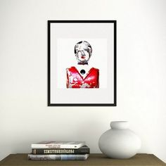 @YellowKorner ''Baby-foot rouge'' #AndréRobé. L'Artiste offre l'Amérique des Années 50-60, vers l'étrange et l'insolite. Disponible au sein de notre galerie de boulogne (92100) - Version 29x29 cm à partir de 71 €.92130 #Issy-les-Moulineaux