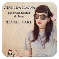 Cookie Plushie: Vitrine da semana - Bruna Santos do blog Chanel fake