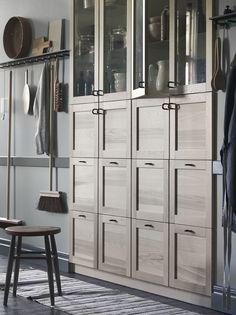TORHAMN keukenfronten   #nieuw #IKEA #IKEAnl #keuken #deur #kast #keukenkast #massief #essen