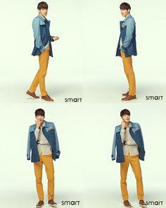 Korea Model모델 /Idol아이돌: 金宇彬 smart校服 2013