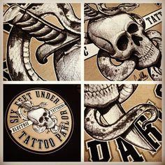 Six Feet Under - Tattoo Parlor