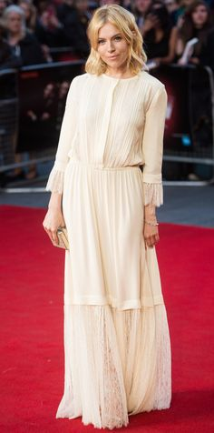 Look of the Day - Sienna Miller  - from InStyle.com