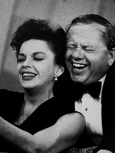 Judy Garland & Mickey Rooney on The Judy Garland Show (looks like they are taking a selfie)