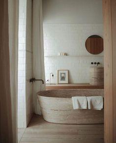 Beautiful Bathrooms, Modern Bathroom, Earthy Bathroom, Colorful Bathroom, Natural Bathroom, Bathroom Ideas, Bathroom Designs, Master Bathroom, Minimal Bathroom