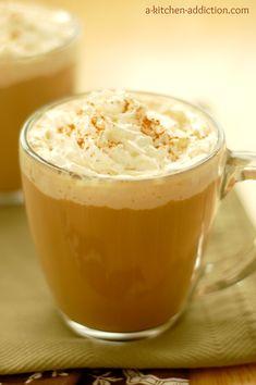 {A Kitchen Addiction} Cinnamon French Toast Latte