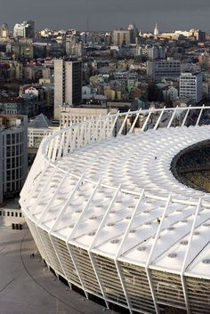 Olympic Stadium Kiev, 2008 by gmp Architekten