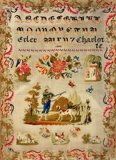 Sampler Dated 1848