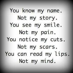 62 Best No One Knows Me Images Thinking About You Thoughts Words