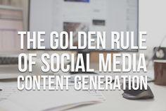 The Golden Rule of Social Media Marketing | Kite Media Blog