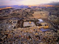 Jerusalem. What a view!