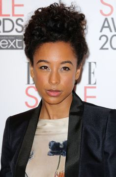 Corrine Bailey Rae's Natural Updo