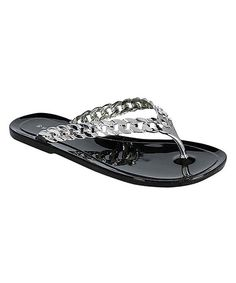 Look at this Black Ebbe Flip-Flop on #zulily today!
