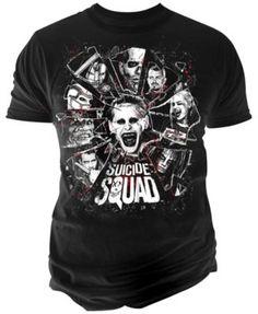 Changes Men's Suicide Squad Graphic-Print T-Shirt