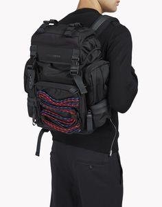 akira techno cord backpack sacs Homme Dsquared2