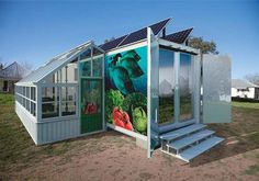 #7: Aquaponics Container System, Austin, Texas  / Austin Urban Solutions & Rosner Studio  An architect and a material scientist repurposed refrigerated shipping containers into a house for farming fish and vegetables. #SpontaneousInterventions