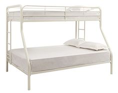 DHP Twin Sized Bunk Bed Over Full Siz…