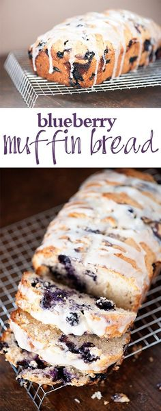 Glazed blueberry muf