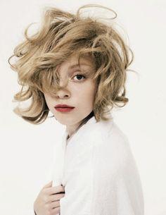 crazy hair cute..I like it