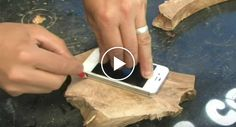 How To Make A Glowing Wooden iPhone Case