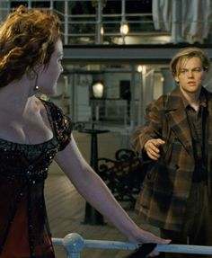 Rose and Jack their first meeting this will forever change their lives. Titanic.