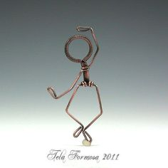 How to make wire people!