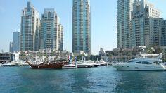 On board the Dubai Ferry • Dubai Marina • Dubai, UAE