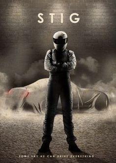 steel canvas Movies & TV stig top gear driver - Displate.com