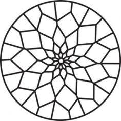 mandala pattern coloring pagesmandala - Coloring Pages Designs Shapes