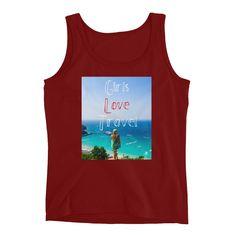 Girls Love Travel Tank Top / Vest